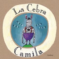 A cebra Camila portada castelan
