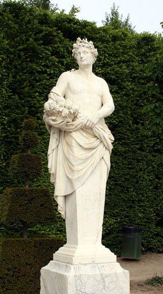 Vertumno en los jardines de palacio de Versalles