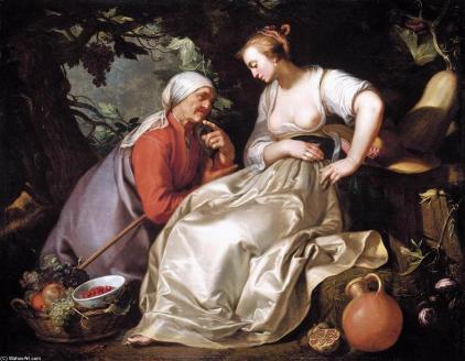 Bloemaert, Abraham - Vertumnus and Pomona - 1620